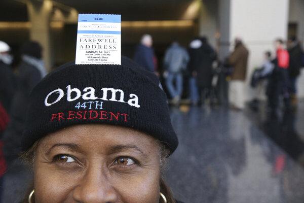 Lístky na Obamov prejav sa už vypredali.