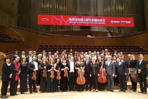 Košickí filhamonici sa predstavili v Číne.