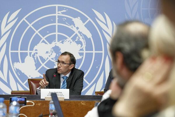 Generálny riaditeľ OSN pre Cyprus, Espen Barth Eide.