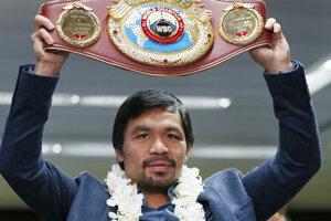 Manny Pacquiao bude štvrtýkrát obhajovať titul v organizácii WBO.