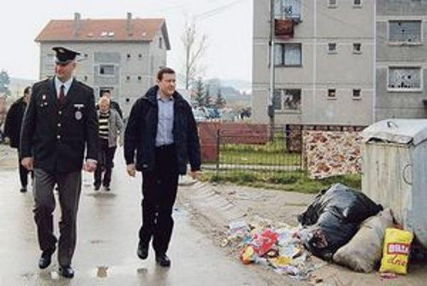Minister Lipšic  bol v máji na kontrolnej návšteve Žehry.