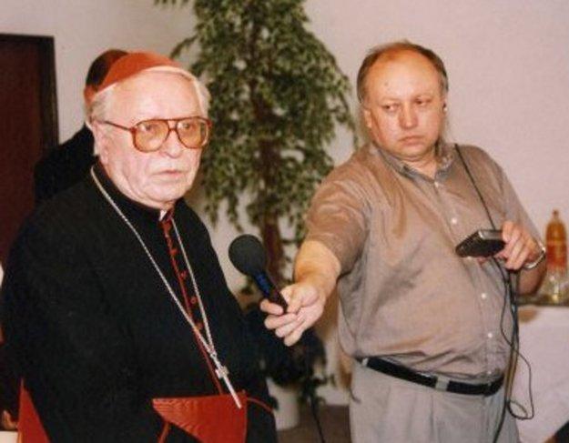 Marián Ondáš sa stretol pri práci s viacerými osobnosťami, napríklad aj s kardinálom Korcom.