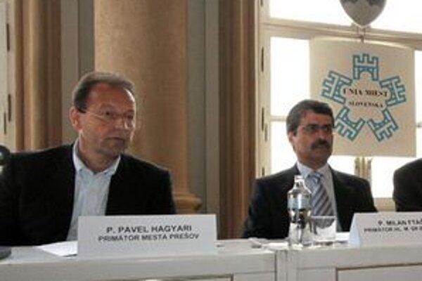 Pavol Hagyari a Milan Ftáčnik.
