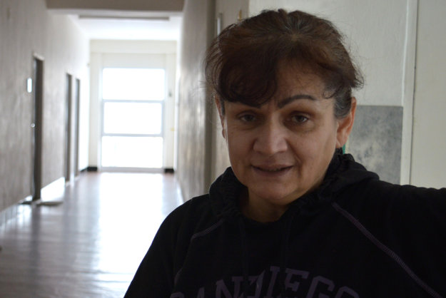 Predsedníčka združenia Forum pale Romnja - Fórum pre rómske ženy z Detvy Jana Luptáková.