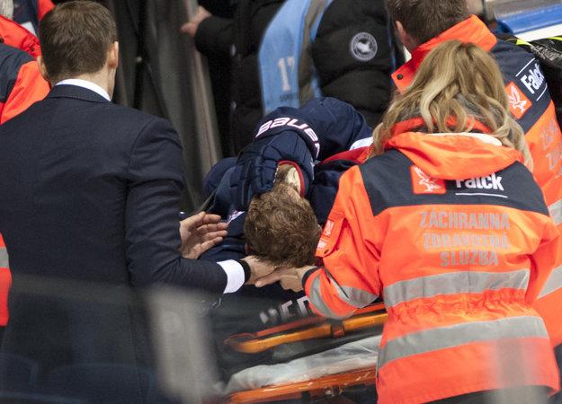 Andrej Nedorost utrpel ťažký otras mozgu.