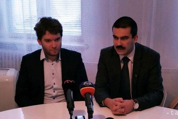 Zľava Ábel Ravasz a Attila Agócs.