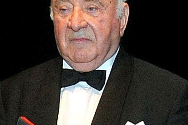 Uznávaný dirigent Anton Nanut.