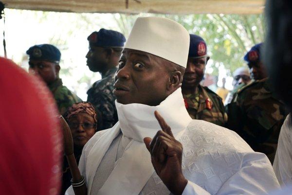 Yahva Jammeh.