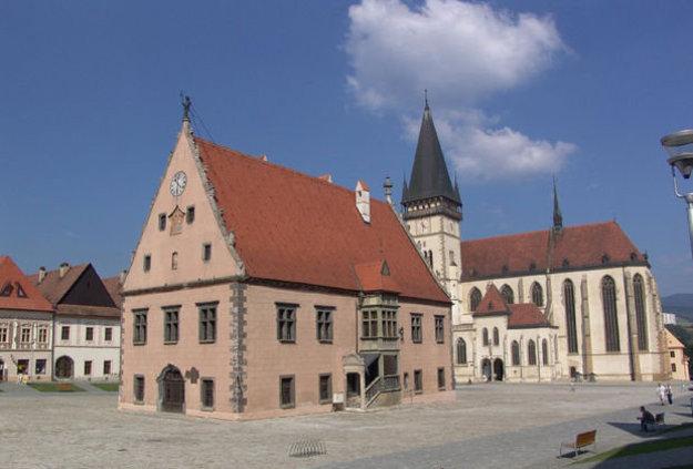 Šarišské múzeum v Bardejove.