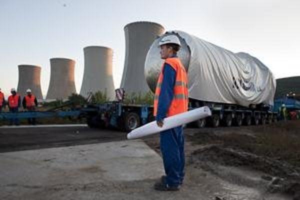 Jadrová elektráreň v Mochovciach má veľké plány aj do budúcnosti.