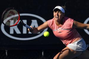 Kristína Kučová skončila na Australian Open už v druhom kole.