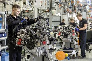 Mercedes AMG V8 motor