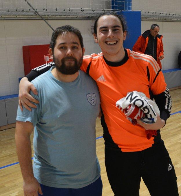 Najlepším brankárom sa stal Andreas Lukas (vpravo).
