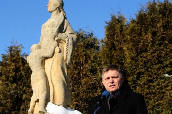 Spomienkového podujatia sa dnes zúčastnil aj premiér Robert Fico.
