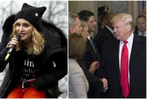 Madonnin prejav odvysielalo viacero televíznych staníc, hoci záver, v ktorom viackrát vulgárne zahrešila, mnohé z nich vystrihli.