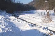 V Sklabinskom Podzámku stihli potok Kantor vyregulovať tak, aby sa vylial na lúku a nie do dvorov.