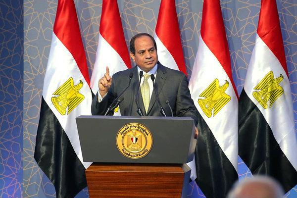 Na archívnej snímke egyptský prezident Abdal Fattáh Sísí.