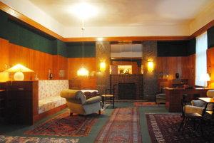 Bytový interiér Adolfa Loosa v Plzni