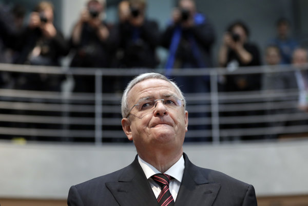 USA žalujú aj bývalého generálneho riaditeľa Volkswagenu Martina Winterkorna.