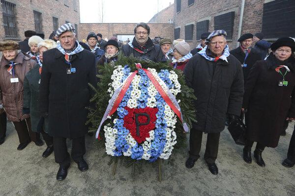 Preživší z koncentračného tábora si uctili pamiatku zavraždených spoluväzňov.