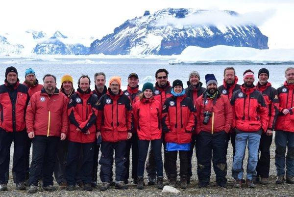Medzinárodná expedícia v Antarktíde.