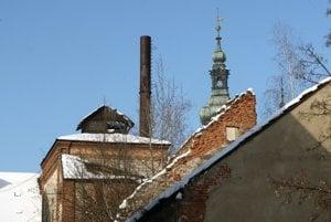 Starý pivovar tvorí komplex budov hneď vedľa centra mesta.
