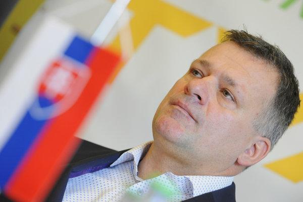 Milan Jagnešák vlani kandidoval za prezidenta Slovenského olympijského výboru.