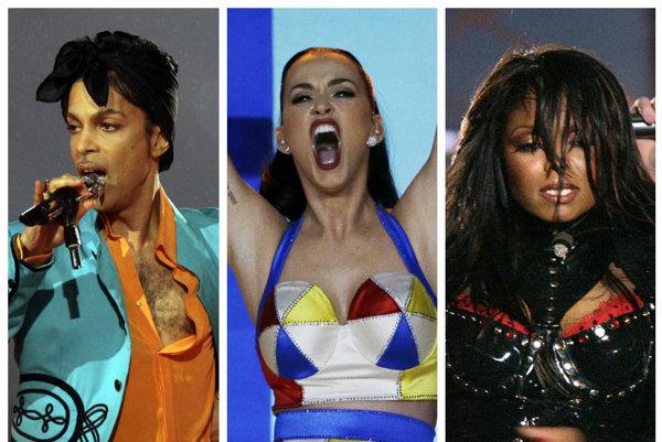 Prince, Katy Perry, Janet Jackson