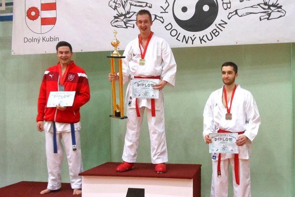 V strede víťaz podujatia vDolnom Kubíne Kristián Michalec.