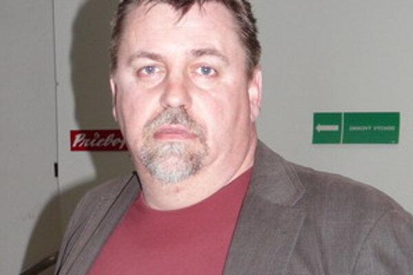 Ján Mikloška, športový riaditeľ FK Mesto Prievidza.