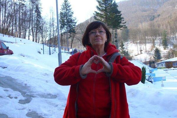 Valerie Janičová zo Žiaru.