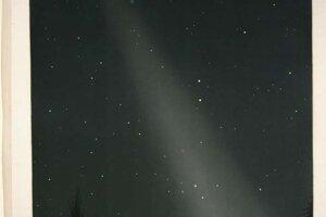 Zodiakálne svetlo vzniká na nočnej oblohe, keď sa slnečné svetlo rozptýli cez medziplanetárny prach.