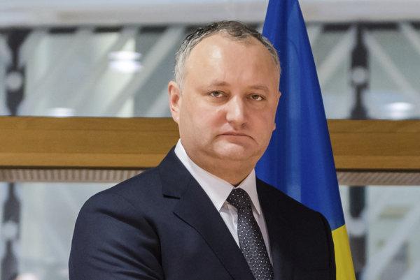 Prezident Moldavska Igor Dodon.