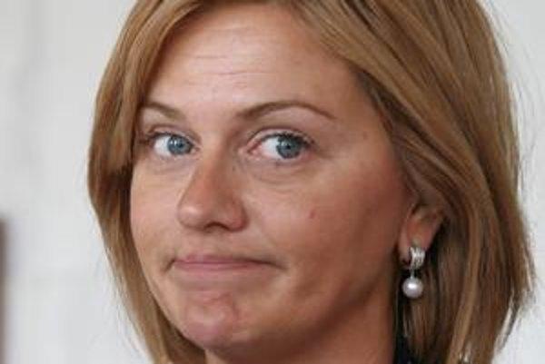 Monika Beňová angličtinu Borisa Zalu nepočula.