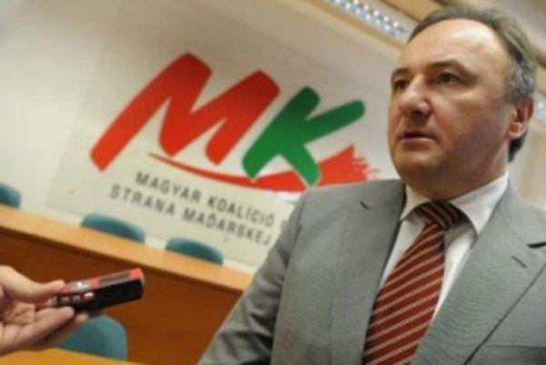 Predseda SMK Pál Csáky.