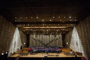 Koncert k 60. výročiu Techniku sa konal vo Veľkej sále Slovenského rozhlasu.