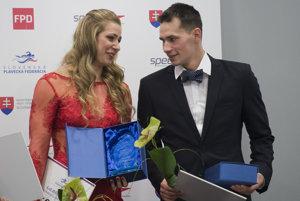 Najlepšími slovenskými plavcami sú Andrea Podmaníková a Richard Nagy.