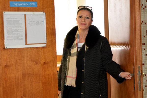 Nora Mojsejová - Kabrheľová. Prokuratúra zvažuje, či ju obžaluje z podvodu.