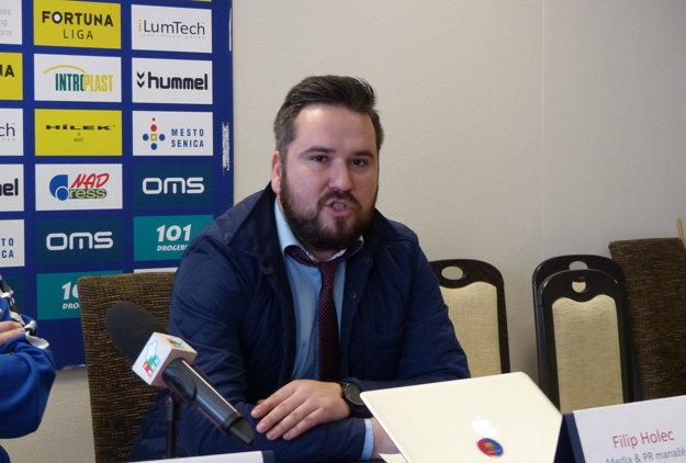PR Manažér FK Senica Filip Holec