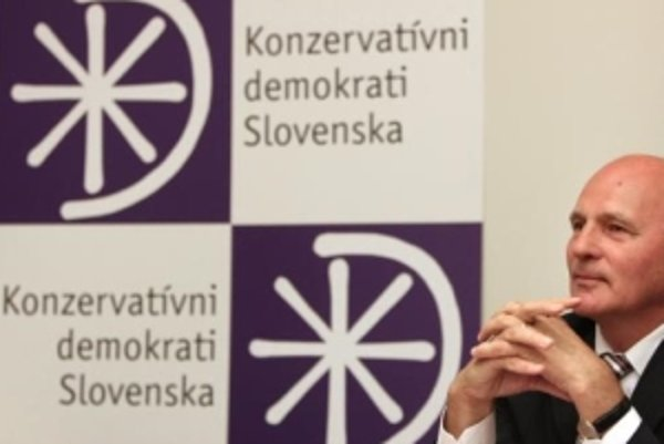 Kandidát na prezidenta František Mikloško.