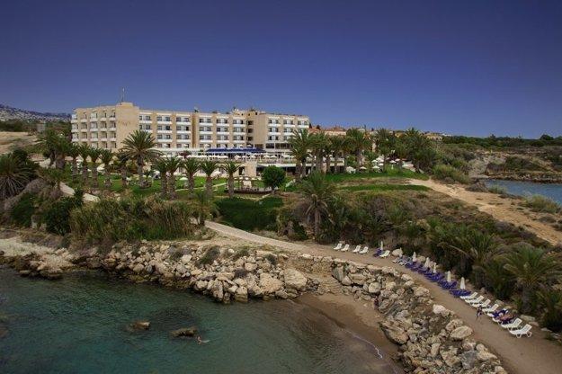Hotel Queens Bay 3*, Južný Cyprus