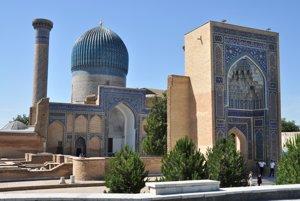 Objavte legendárny Samarkand v Uzbekistane