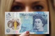 Päťlibrová bankovka.