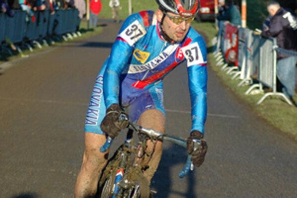 Milan Barényi skončil na 36. mieste, čo je solídny výsledok vzhľadom na fakt, že sa cyklokrosu venuje už len popri zamestnaní.