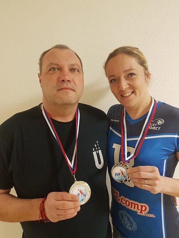 Rašner a Tužinská so striebornými medailami za úspech v Slovenskom pohári