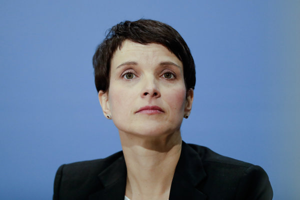 Frauke Petryová.