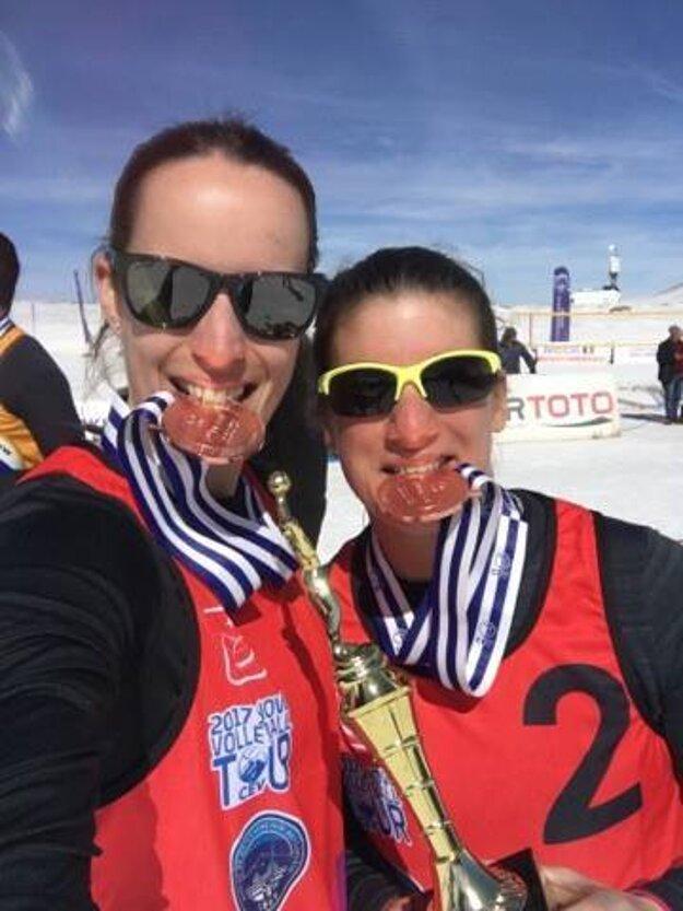 Selfie bronzových slovenských reprezentantiek.