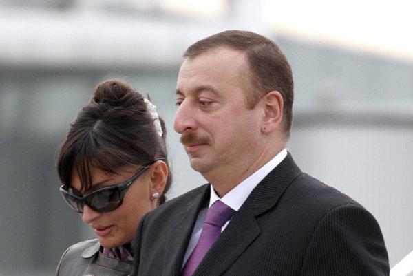 Prezident Alijev s manželkou.