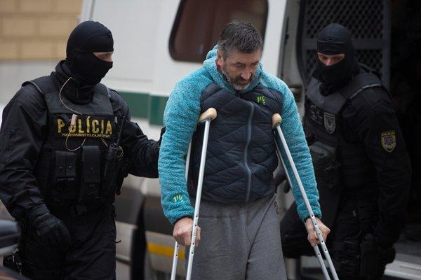 Ľubomír Kudlička prichádza na Špecializovaný trestný súd.