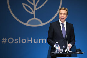 Nórsky minister zahraničných vecí Börge Brende.